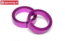 HPI86616 Gear Spacer Purple, 2 pcs.