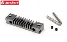 HPI87572 Brake Lining bracket HD Gun Metal, Set.