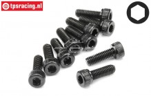 HPI94505 Pan-Head screw M4-L12 mm, 10 pcs.