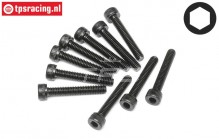 HPI94510 Pan-Head Screw M4-L25 mm, 10 pcs.