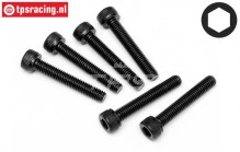 HPI94710 Pan-Head Screw M5-L30 mm, 6 pcs.
