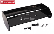 TPS85451/10 Nylon rear Wing Black HPI-Rovan, Set