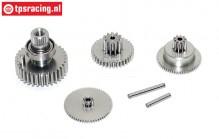 Gears complete, JX-BLS6534HV servo, Set