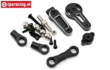 LOS251042 Double Steering Linkage 15T MTXL, Set