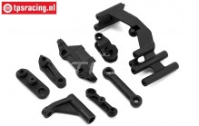 LOS251059 Steering Servo mount-Bellcrank Super Baja Rey, Set
