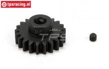 LOS252044 E-Motor Steel gear 21T-M1,5, 1 pc.
