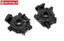 LOS252074 Gear box/Bulkhead front SBR-2.0-SRR, set