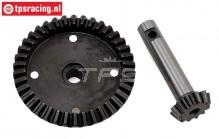 LOS252075 Differential Gear front/rear 38/12T SBR-2.0-SRR, Set