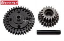 LOS252080 Center transmission gear SBR-2.0-SRR, Set