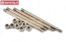 LOS254028 Outer Hinge pins MTXL, 4 pcs.