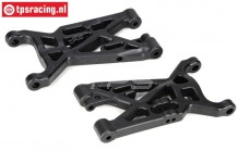 LOSB2071 Front lower suspension arm LOSI-BWS-TLR, 2 pcs