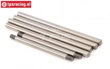 LOSB2080 Hinge pins LOSI-BWS-TLR, Set