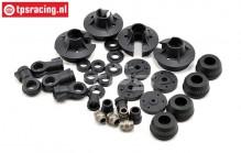 LOSB2855 Shock parts 5B-5T-MINI, Set