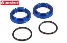 LOSB2870 Shock absorber adjustment ring 5B-5T-MINI, 2 pcs.