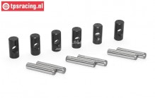 TPS3217 CV Joints with Pins LOSI-BWS-TLR, Set