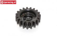 BWS55029 Hardened Gear 19T, (5B-5T-MINI-BWS), 1 pc.
