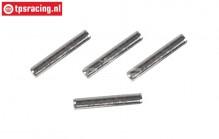 M3000/17 Mecatech Brake Lining pin Ø2-L13 mm, 4 pcs.