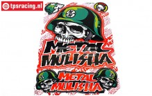 TPS19/046 Decals Metal Mulisha, 1 pc.
