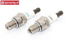 TPS0455 CMR6H-CMR7H Spark Plug M10 x 1, Set