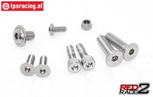 TPS1084/18 TPS® RedRace2 Stainles Steel screw, set