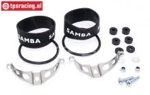 SAM7110 Samba Exhaust mounting kit Ø50 mm, Set
