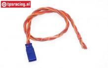 TPS0553/30 Silicone Cable Uni Male Gold L30 cm, 1 pc
