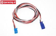 TPS0540/100 Silicone extension cable Futaba Gold L100 cm, 1 pc