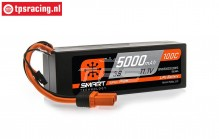 SPMX50003S100H5 3S Smart LiPo Hard Case 5000 mHa-100C, 1 pc.