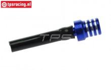 TPS0710/02 Alloy Fuel tank vent and aeration Bleu, 1 st.