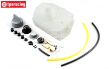 Gas tank complete, (LOSI 5IVE-B 4WD), Set