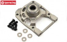 TLR252012 Clutch mount/engine support 5B, 1 pc.