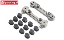TLR254000 Hinge pin Brace front 5B-5T-MINI, Set