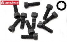 TLR255023 Socket Head Screw M5-L16 mm, 10 pcs