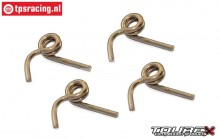 TXLR418 Tourex Big-Speed Reverse Ø2,0 mm spring, 4 pcs.