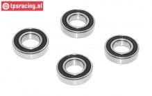 TPS0305/34 Ball Bearing Wheels HPI-Rovan-King, 4 pcs