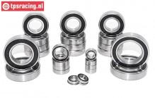TPS0305 Ball Bearing set HPI-Rovan-King, 25 pcs