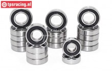 TPS9510 Ball bearing Set LOSI DBXL-MTXL, 22 pcs