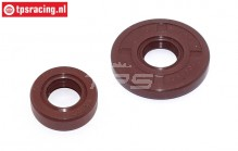 TPS0715 Viton Oil seal 32-38 cc, set