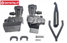 XR-FG8020 X-Rider Flamingo Tuning Engine Cover, Set