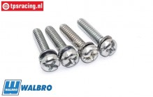 ZN0089 Walbro Pump Holder Screws, 4 pcs