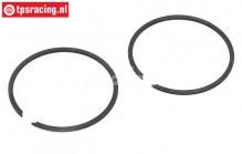 ZN32025S Zenoah Flex Piston Ring 32cc-Ø38, 2 st.