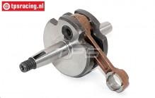 BWS57060 Crank shaft BWS Racing 32/38 cc, (S28 mm), 1 pc