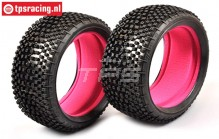 FG67218SI Styx Soft Tyres with foam, 2 pcs.