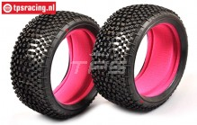 FG67218SSI Styx Super Soft Tyres with foam Ø130-B65, 2 pcs.