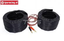TPS0428 HQ 1/5 Scale Tire warmers, 12 Volt, Set