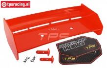TPS85451/20 Nylon rear Wing Red HPI-Rovan, Set