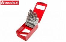 TPS5330 HSS-Cobalt Drills 1-13 x 0.5 mm, Set