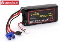 TPS5200/2SS 2S Li-Po Race-Line 5200 mAh 100C, 1 pc.