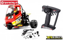 XR83001-01 X-Rider Flamingo Red RTR, Set