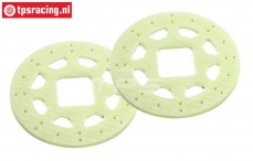 M1000/40 Mecatech Epoxy brake disk Ø64 mm, 2 pcs.